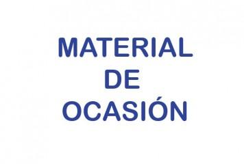 MATERIAL DE OCASION